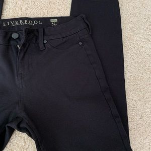 Liverpool black stretch jeans